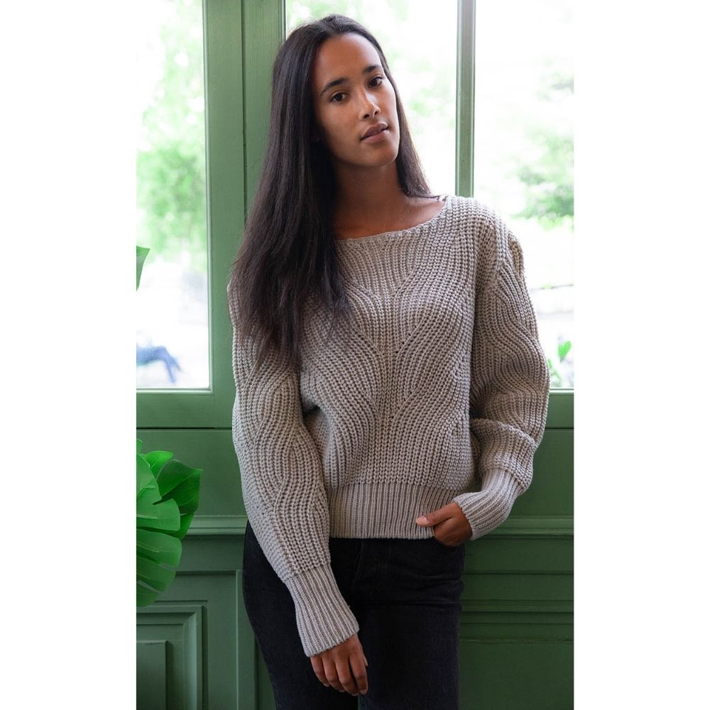 Pull Ormeau gris